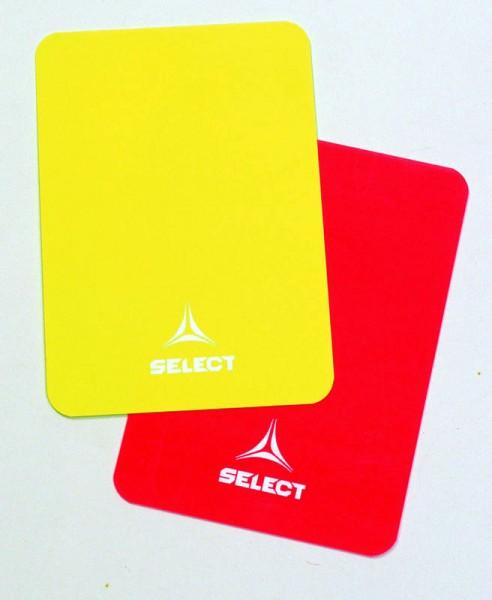 Schiedsrichterkarten rot/gelb One Size