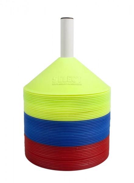 Markierungshütchenset I rot/gelb/blau 7 cm