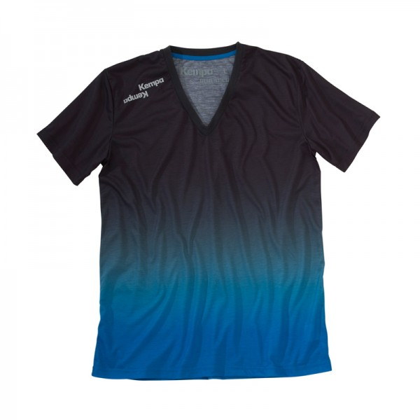 a blue T-Shirt