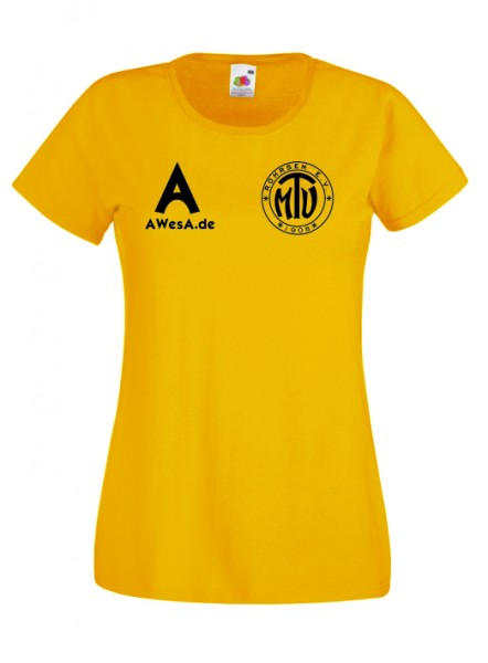 Basic T-Shirt Damen