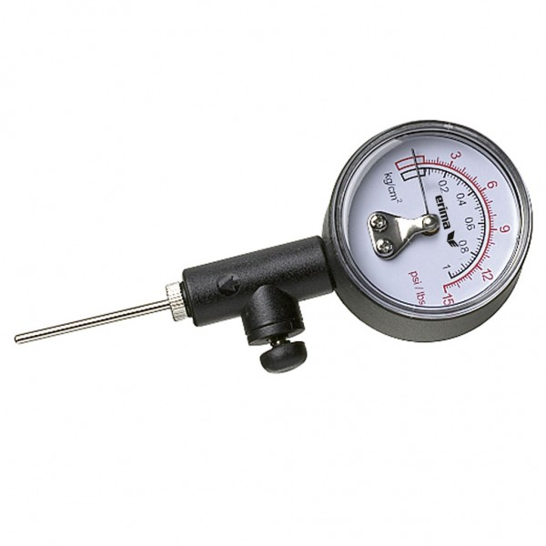 Luftdruckmesser schwarz/weiß 0