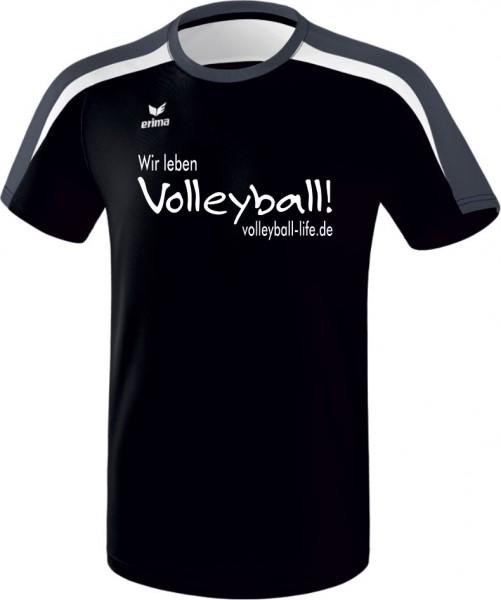 "Liga 2.0 T-Shirt ""Wir leben Volleyball""-Promo"