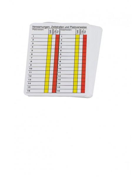 Spielnotizkarten-Nachfüllset tück Set