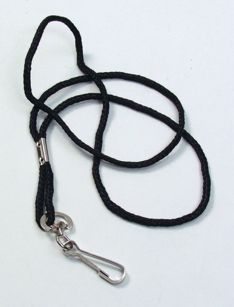 Pfeifenschnur schwarz 48 cm