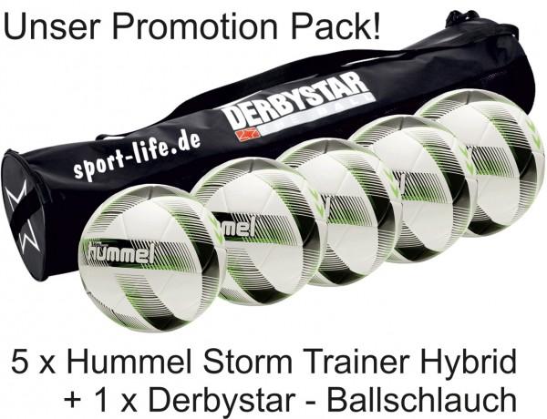 Hummel Storm Trainer 5er Pack + Ballschlauch