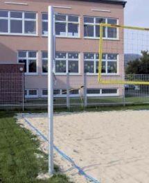 Beach-Volleyball-Wettkampfanlage, Flaschenzug