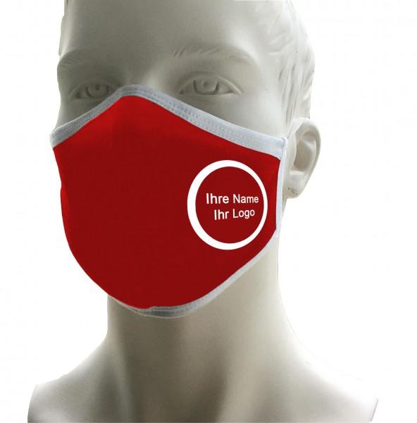 Premium Mund-Nasen-Maske, inkl. Druck
