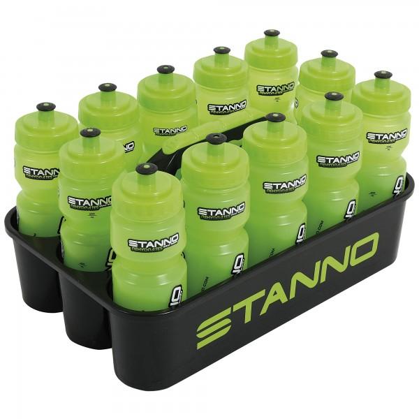 Trinkflaschenhalter Luxe inkl.Flasch. schwarz+grün