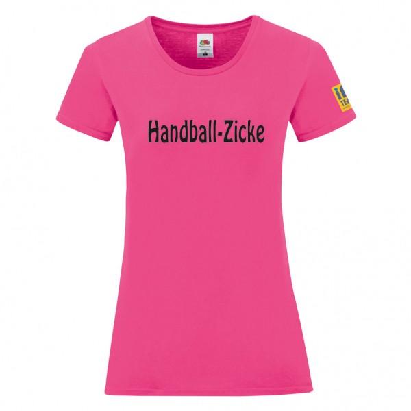 "Basic T-Shirt Ladies ""Handballzicke"