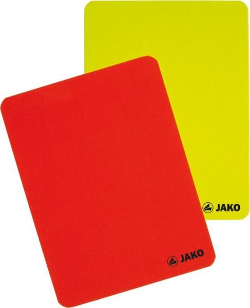 Karten-Set Schiedsrichter rot/gelb Set