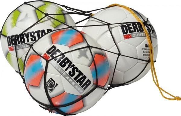 Ballnetz Polyester schwarz 1 Ball