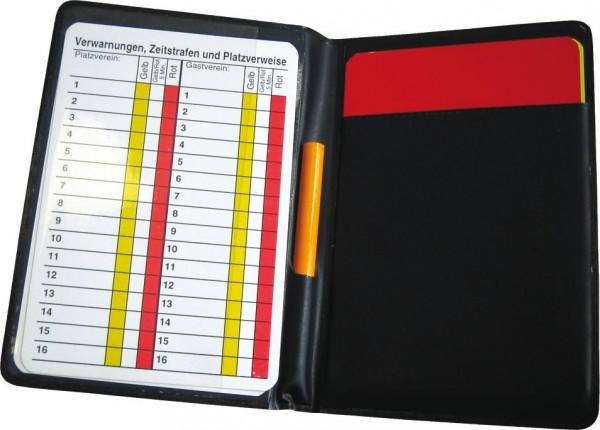 Schiedsrichter-Set schwarz Set