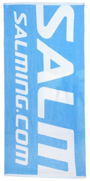 g Shower Towel CyanBlue/White