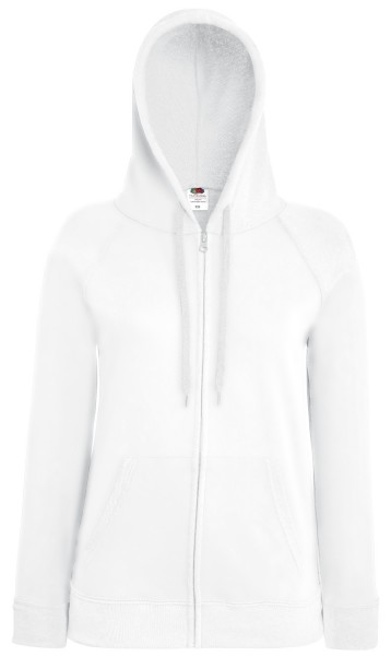 F Lady-Fit Lightweight Hooded Sweat Jacket